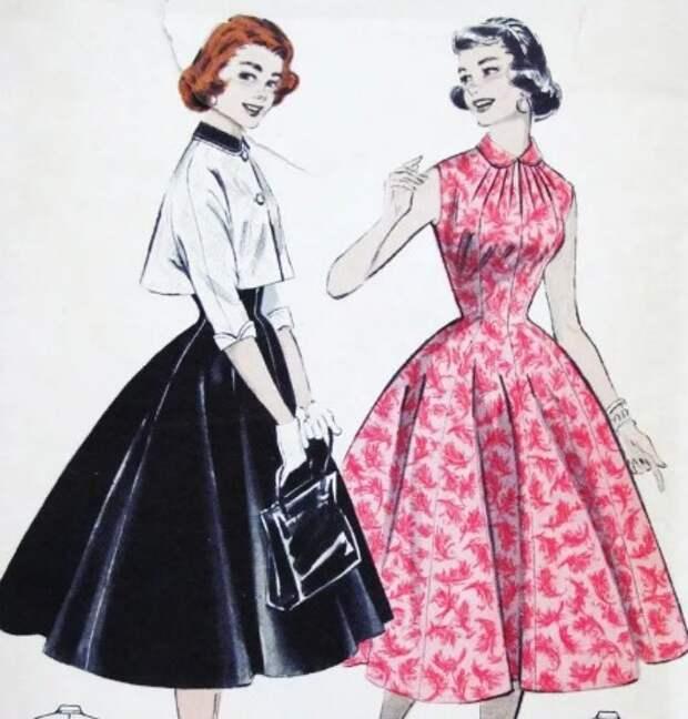 Примерно в таком образе хотели видеть женщин тех лет.