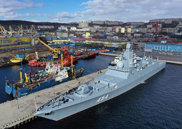 Фрегат «Адмирал Горшков» отправился в Северодвинск для продолжения испытаний ракетного оружия