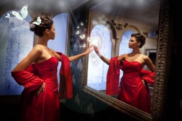 Что нежелательно делать с зеркалом