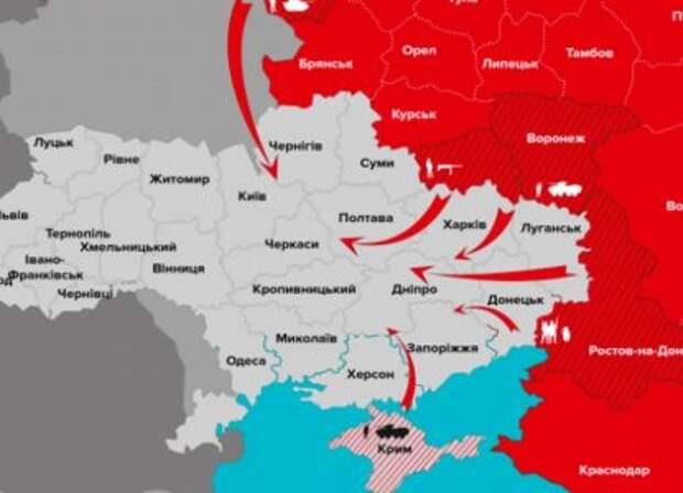 «На столе в российском Генштабе карта захвата Бердянска и Мариуполя»