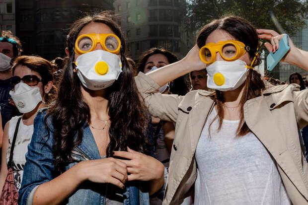Протесты в Стамбуле