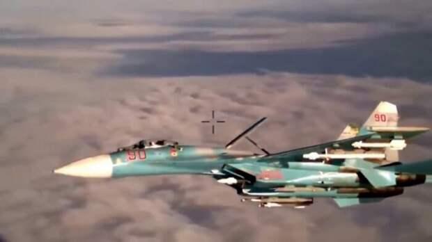 Российские Су-27 и Су-35 перепугали натовские F-35 внебе надБалтикой