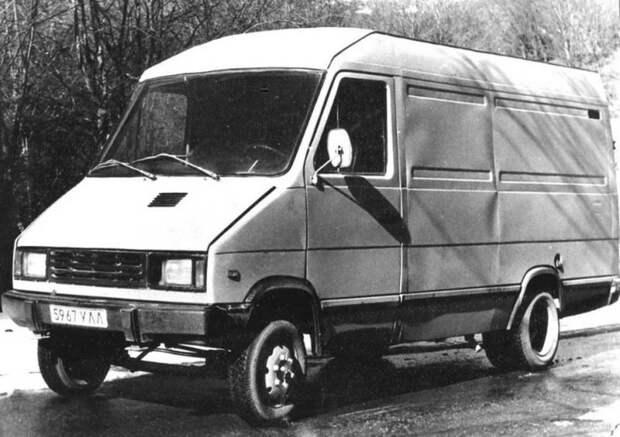 УАЗ-3727 авто, автомир, автомобили, газель, грузовик, советские автомобили, фургон