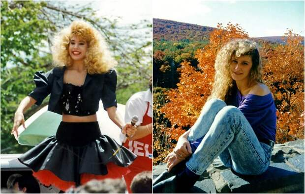 Модные причёски 1980-х на фотографиях того времени: начёсы и модные завитушки
