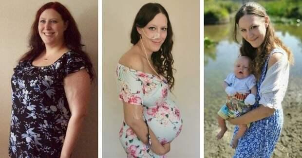 Мишель Стивенс сменила 6 размеров одежды и в общем скинула почти 50 кг из за беременности
