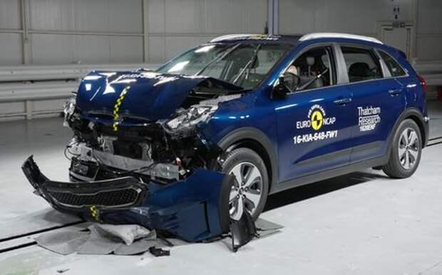 Euro NCAP: Renault Scenic не бережет шею, Kia Niro – грудь