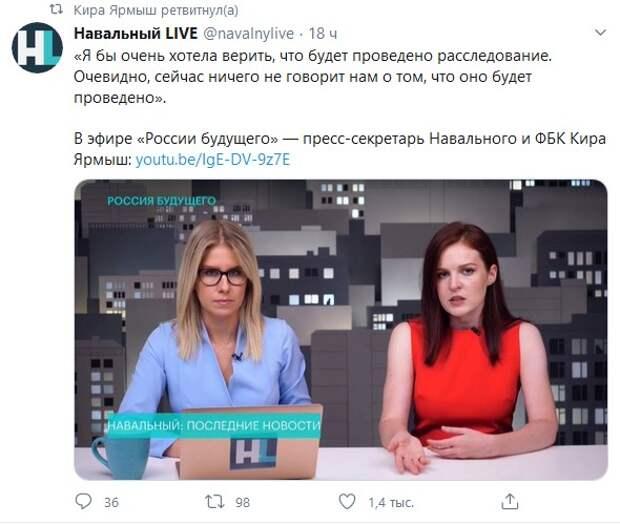 Бред либералов о Навальном в самом разгаре