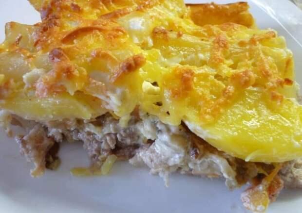 Картофель по-царски с куриным филе