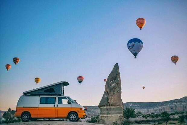 Самые красивые места для путешествий на караване в Турции
