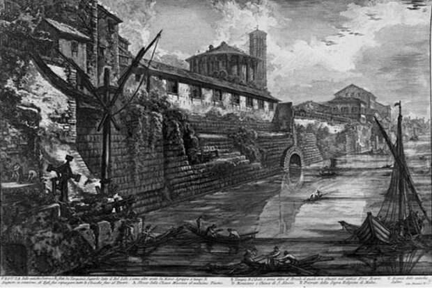 Большая Клоака - система античной канализации
