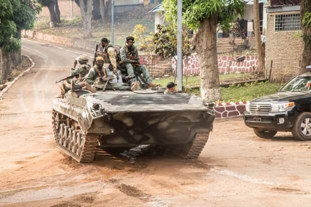 Правительственная армия ЦАР зачистила от боевиков город Бангасу