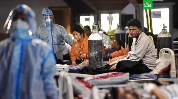 В Индии на фоне коронавируса зафиксировали вспышку «черной плесени»