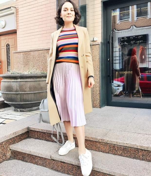 Весенняя мода из Инстаграм