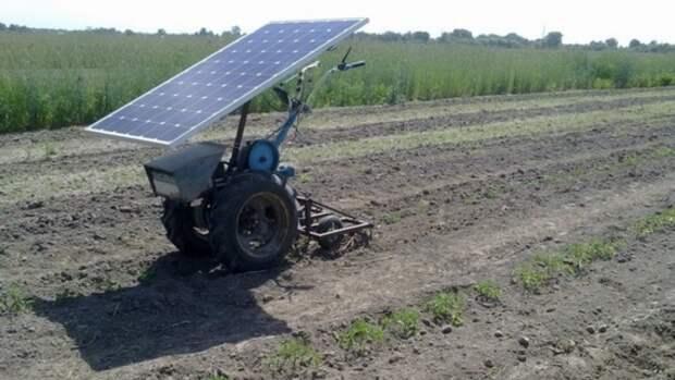 мотоблок на солнечных панелях: Устойчивые изделия и конструкции