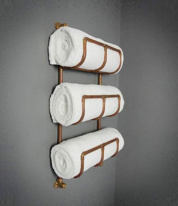 Два в одном: радиатор + полотенцедержатель
