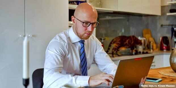 Жириновский подал заявление на онлайн-голосование на сентябрьских выборах Фото: Ю. Иванко mos.ru