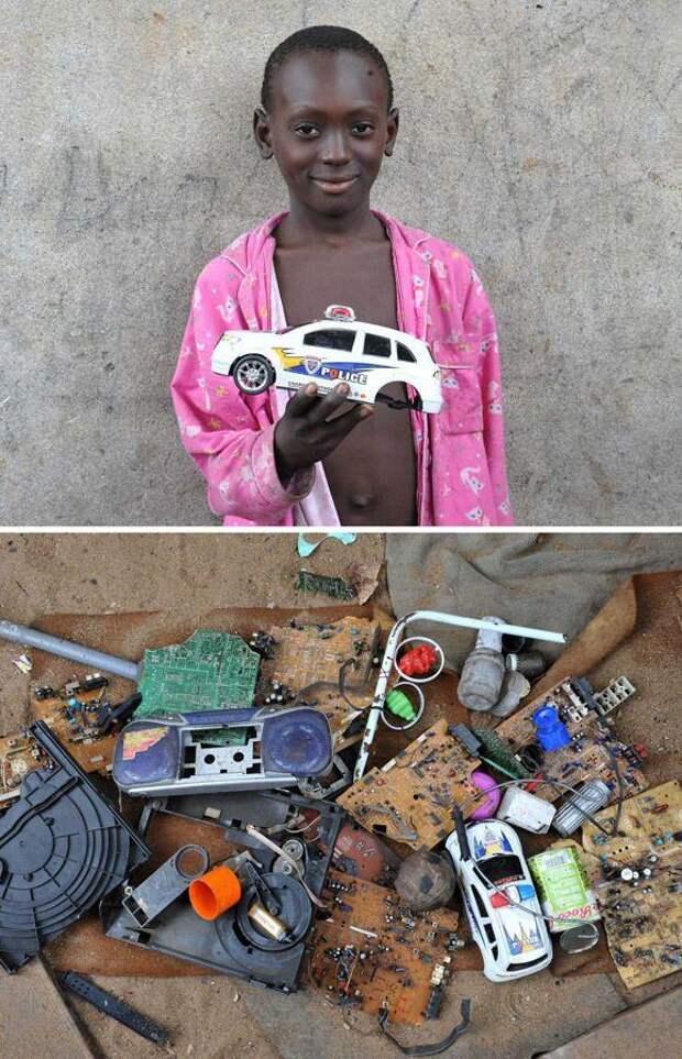 Игры детей из африканских трущоб (13 фото)