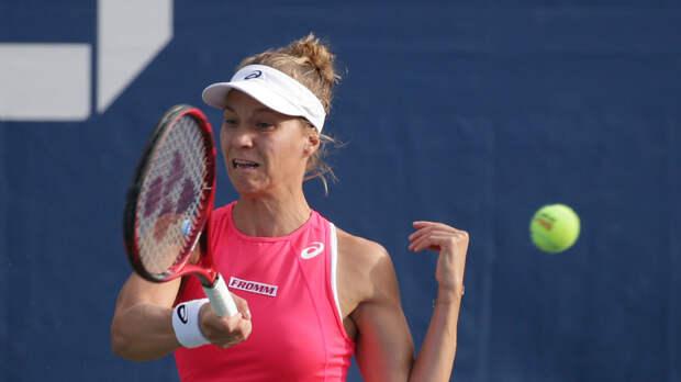 Панова и Голубич вышли в четвертьфинал парного турнира в Стамбуле