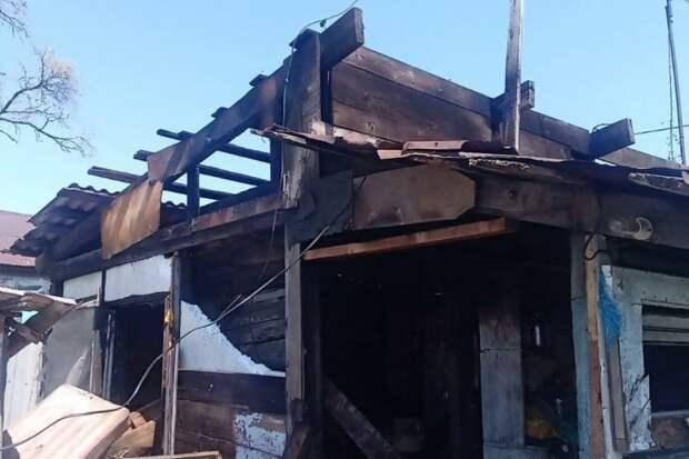 Лишились буквально всего: крупный пожар в селе Воздвиженка