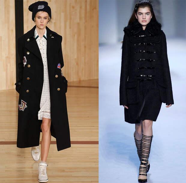 Женское пальто 2016-2017