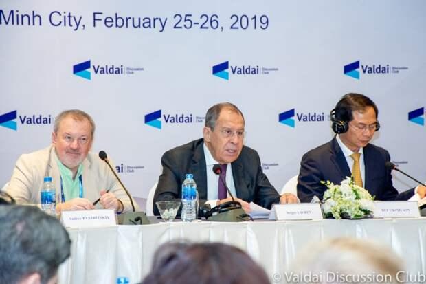 Выступление министра иностранных дел России Сергея Лаврова на Российско-вьетнамской конференции Клуба «Валдай»
