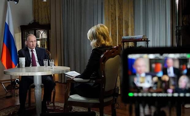 Интервью президента Путина американскому телеканалу NBC