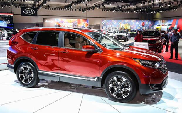 Пятый пошел: Honda представила кроссовер CR-V нового поколения