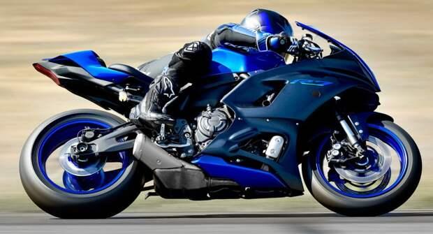 Yamaha представил новый спортбайк — YZF-R7