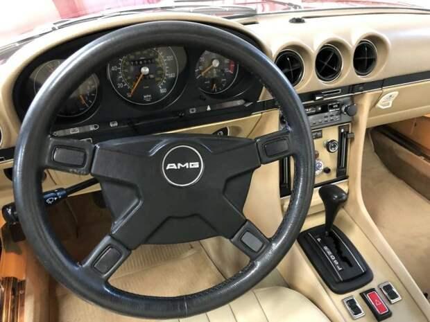 Пенсионерка продала купе Mercedes 450 SLC AMG, которым владела 42 года mercedes, mercedes-benz, авто, автомир, автомобили, найдено на ebay, олдтаймер, ретро авто