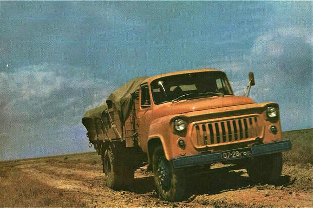 Вспомним молодость и грузовики на которых мы ездили, ЗИЛ 130 и ГАЗ 53