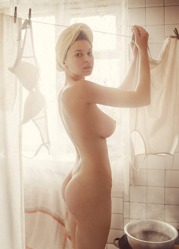 Фото №4 - Нюстальгия: лучшие работы эротического фотографа Давида Дубницкого
