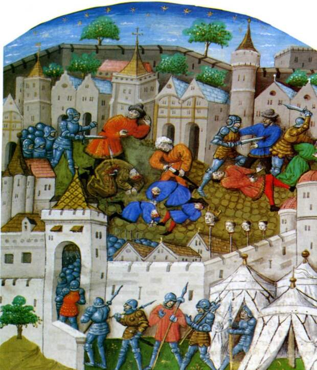 "Морис Дрюон, ""Лилия и лев. Когда король губит Францию""."