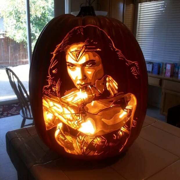 Шедевральные хеллоуинские тыквы Алекса Вера: лучше не сможет никто