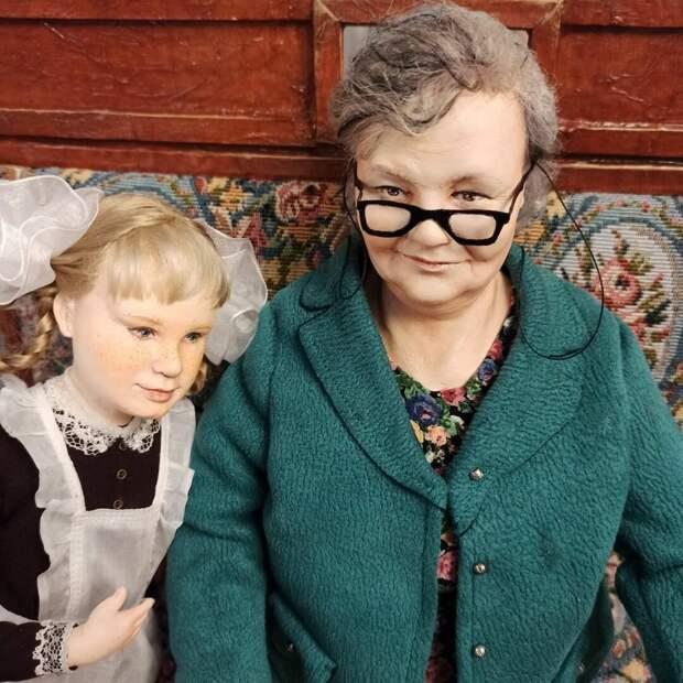 Удивительно характерные куклы пермской рукодельницы, которых оценят люди, рожденные в СССР