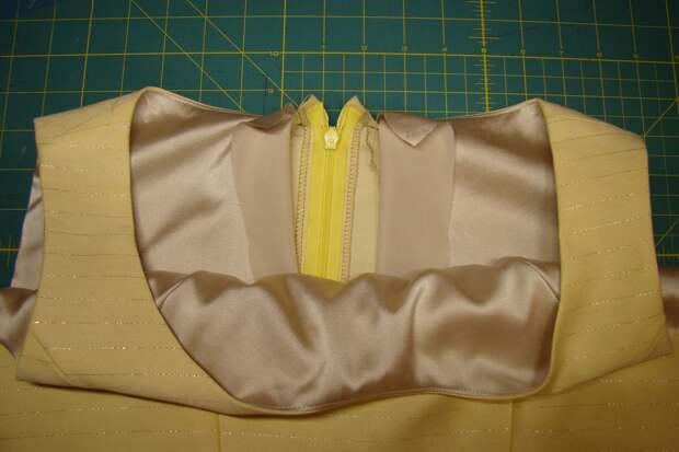 Техники шитья на подкладе 6