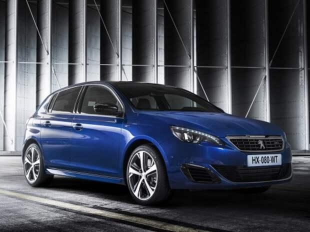 Peugeot представляет новый вариант модели 308 – GT