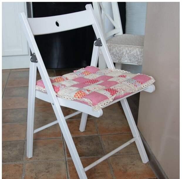 Сиденье на стул в стиле Прованс