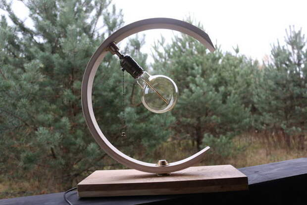 Креативный светильник своими руками на Юбилей Деду
