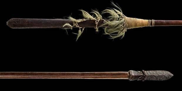 Фехтование по-маорийски: боевые вёсла свирепых каннибалов