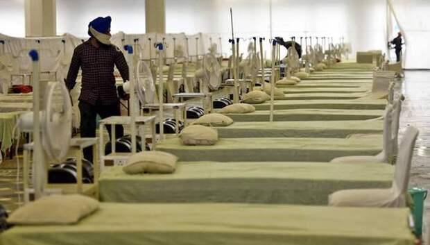 В Индии за сутки выявили более 257 тысяч случаев заражения COVID-19