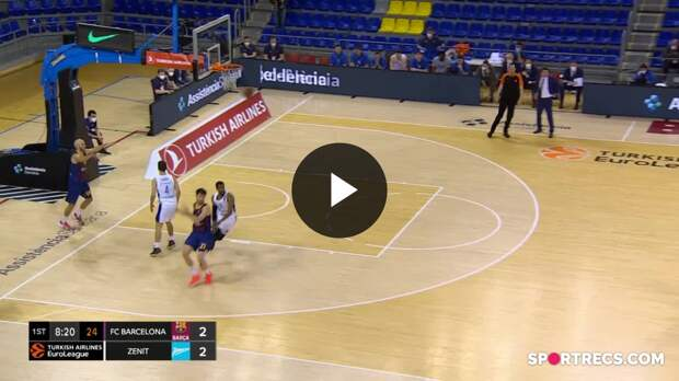 FC Barcelona vs. Zenit St Petersburg - Game Highlights