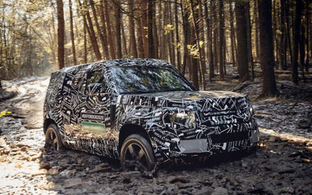 Новый Land Rover Defender поступит в продажу через год