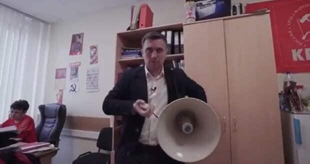 Депутат от КПРФ устроил дебош на избирательном участке