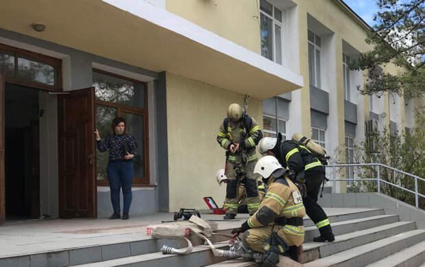 Сообщение о бомбе в симферопольском колледже оказалось фейком