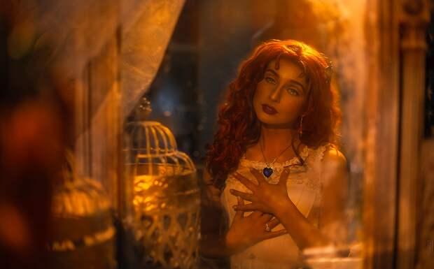 """Косплей шикарной Розы Дьюитт Бьюкейтер из фильма """"Титаник"""""""