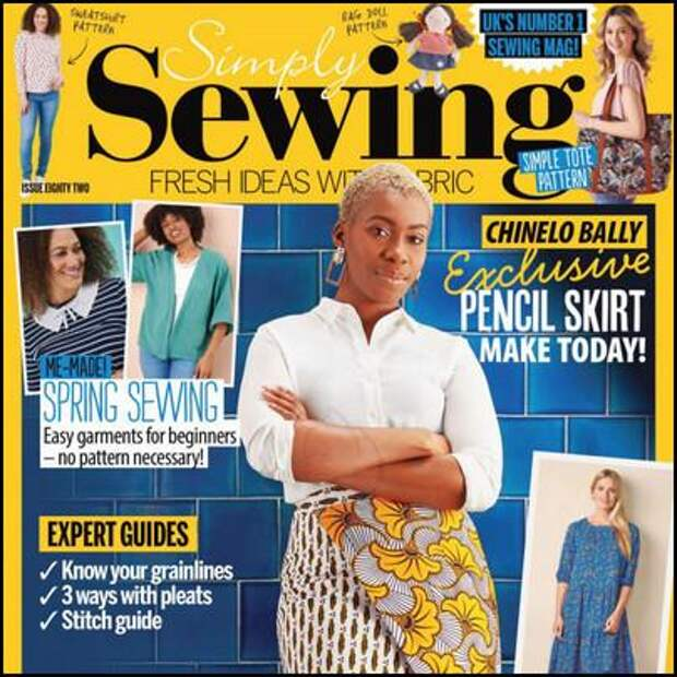 Simply Sewing №82 2021
