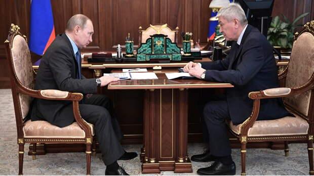 Владимир Путин встретился с главой Росфинмониторинга Юрием Чиханчиным