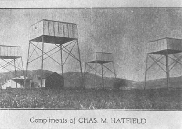Чарльз Хэтфилд - человек, который вызывал дождь с помощью загадочного порошка