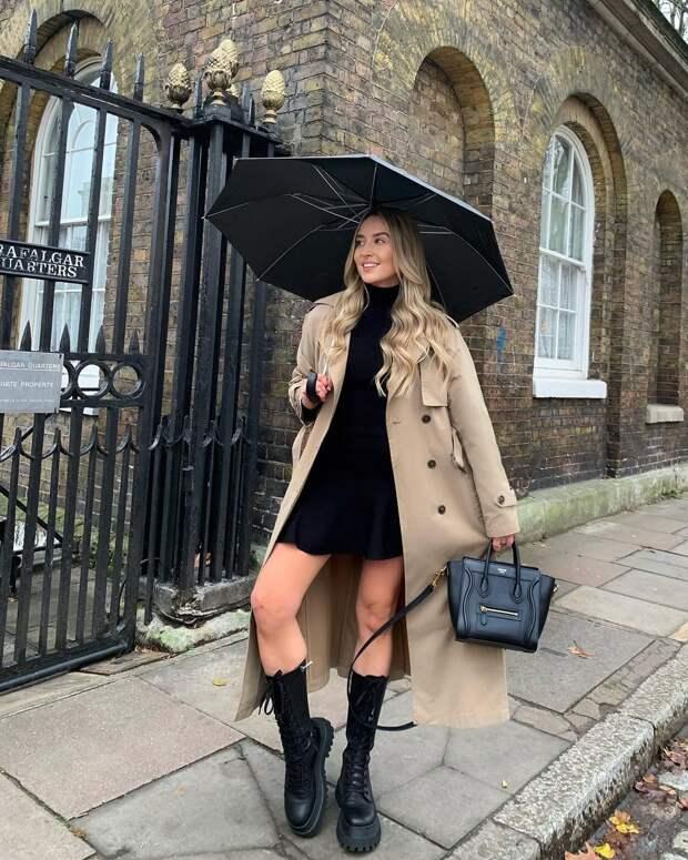 20 стильных примеров с чем носить ботинки весной, чтобы выглядеть модно