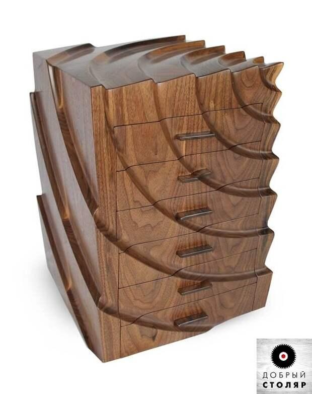 Удивительные, рельефные изделия из ценных пород древесины.